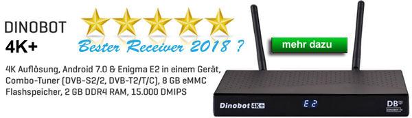 Dinobot 4K+ best Receiver 2018