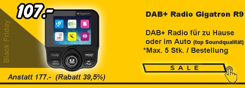 DAB+ Auto und Heim Radio