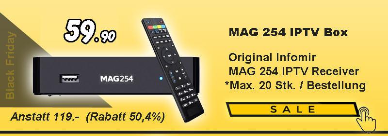 MAG 254 Box - MAG254 - Satonline