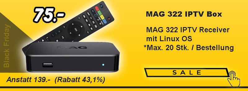 Infomir MAG 322