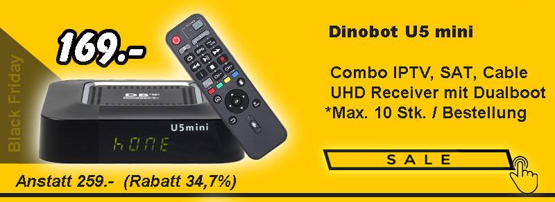 Dinobot U5 Mini